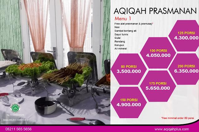 Catering Semarang Terkenal Untuk Ibadah Aqiqah Gratis Ongkir