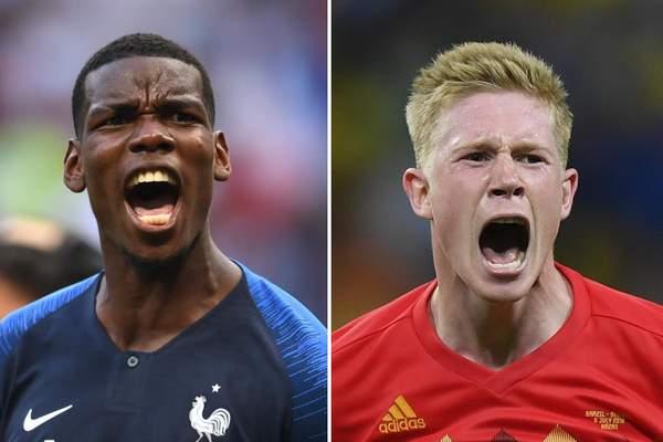 France vs Belgium World Cup 2018 Semi-final Tuesday, July 10 Saint Petersburg Stadium