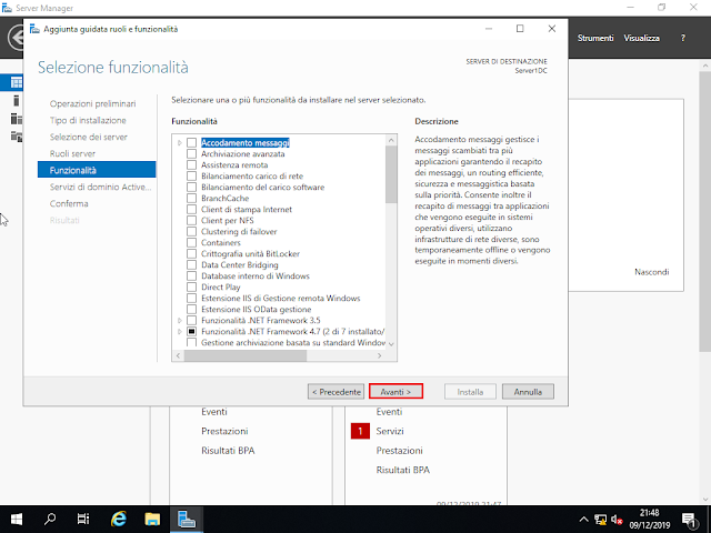 Windows Server 2019, Funzionalità