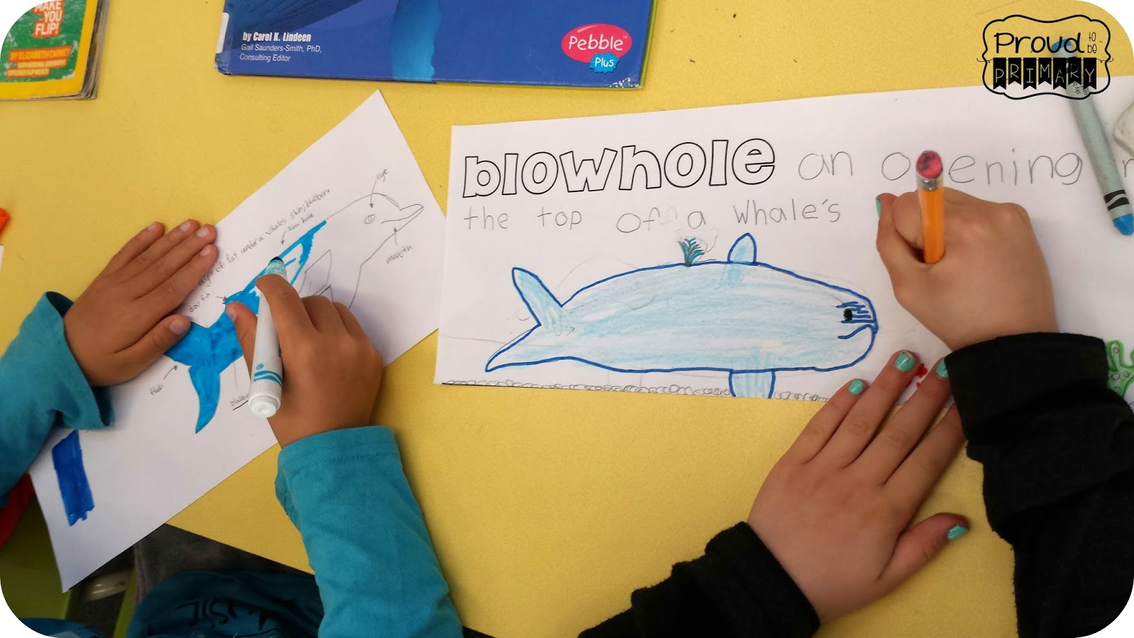 Proud To Be Primary Whales In The Classroom Giveaway