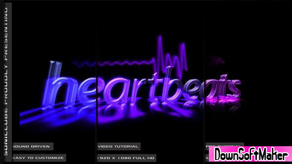 audio driven heartbeat template 164173 videohive free download after effects templates