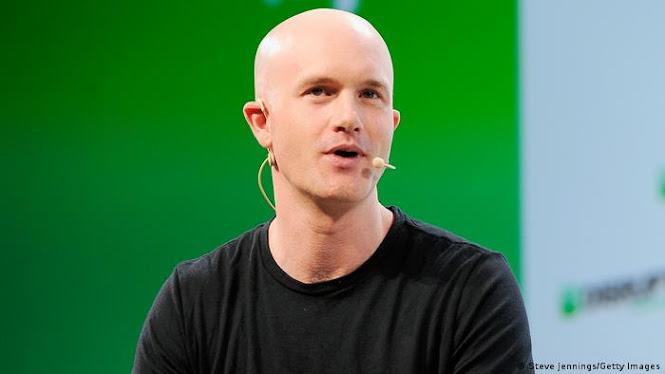 Brian Armstrong CEO Coinbase