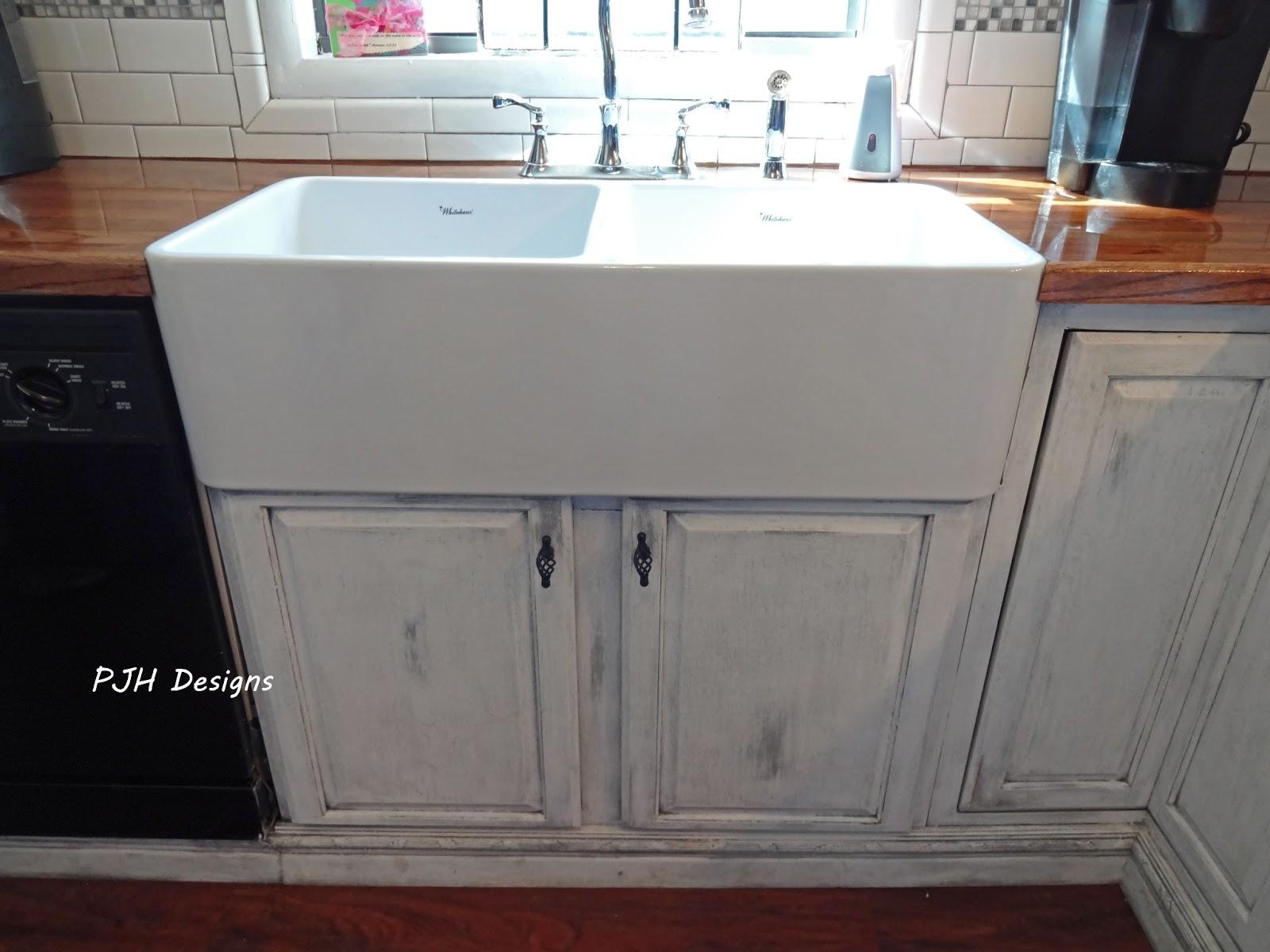 pjh designs hand painted antique furniture apron sink. Black Bedroom Furniture Sets. Home Design Ideas