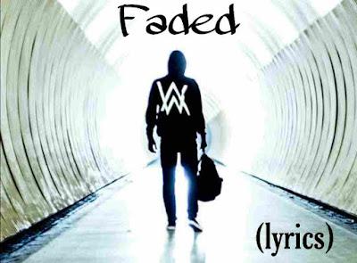 lyrics of faded