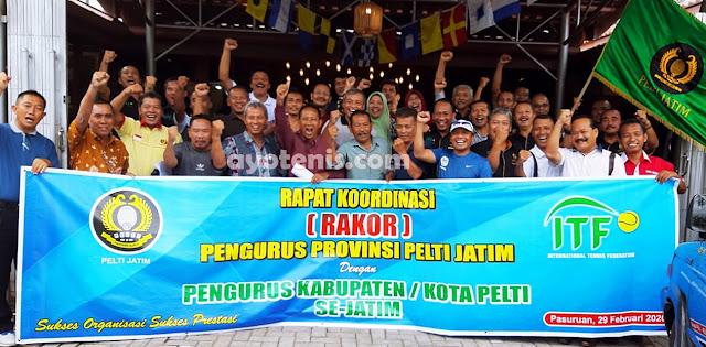PELTI Jawa Timur Gelar Rapat Koordinasi Provinsi di Pasuruan