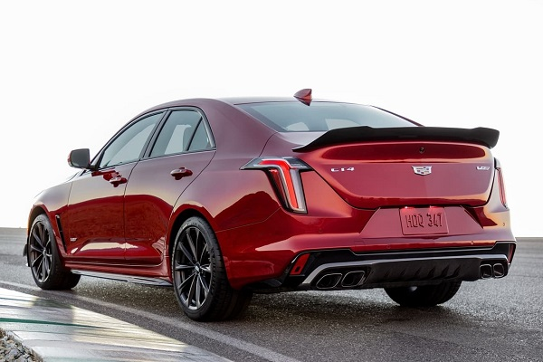 Cadillac CT4-V Blackwing 2022