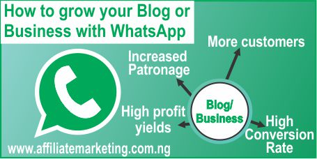 Grow your blog/Business with WhatsApp