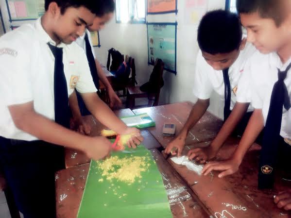 Pelajar SMP Takalar Temukan Tape dari Bahan Sukun, Ubi Jalar dan Jagung