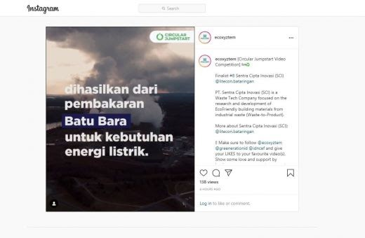 Circular Jumpstart Video Competition, CEO SCI : Mari ...