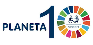Logo del evento Planeta 10 de COCEMFE