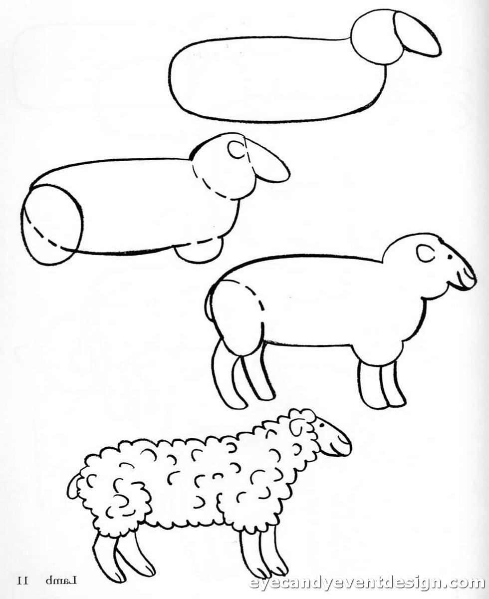 Ausmalbilder Schafe