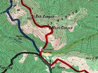 Топографические карты бесплатно - Центральные Горганы
