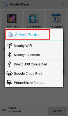 how to take printout from mobile to printer