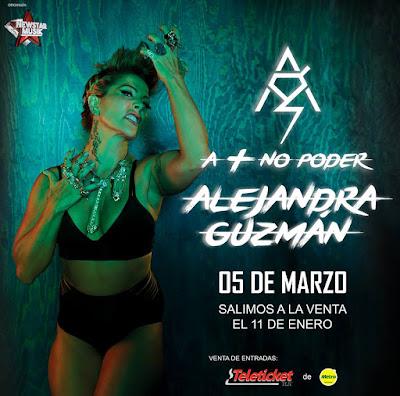 Alejandra Guzman en Arequipa