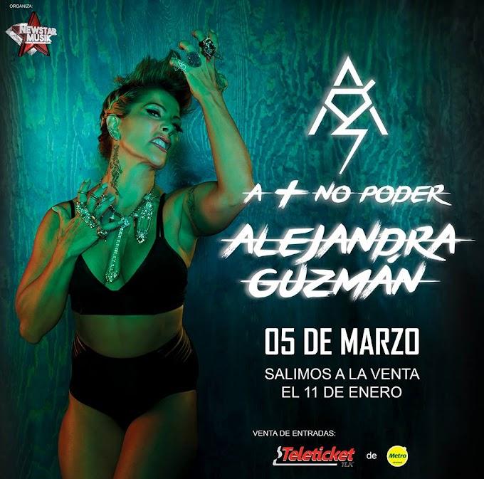 Alejandra Guzman en Arequipa - 05 de marzo - Venta de entradas