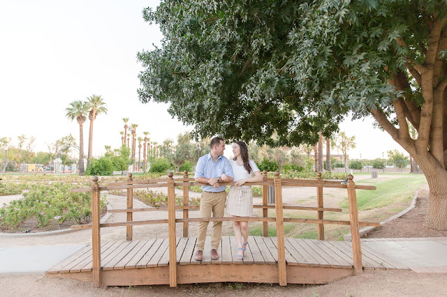 Sahuaro Ranch Park in Glendale AZ Engagement Photography by Micah Carling Photography