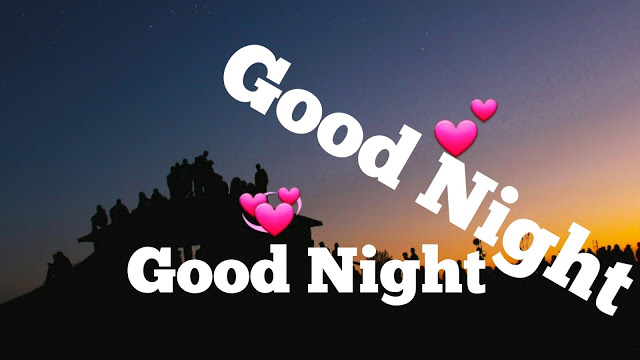 good night image with love couple