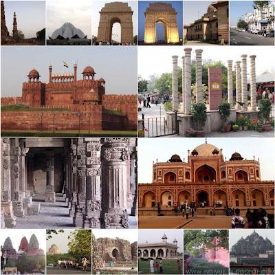 New Delhin parhaimmat nähtävyydet, Indivue 2015