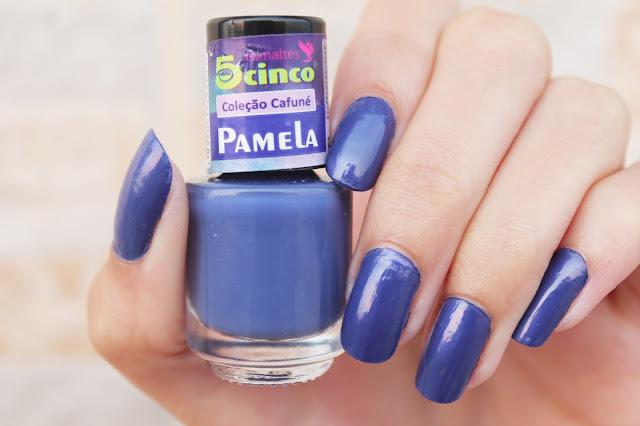 Esmalte Pamela Coleção Cafuné 5 Cinco