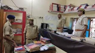 Jaunpur News : डीएम, एसपी ने किया थाने का निरीक्षण | #NayaSabera