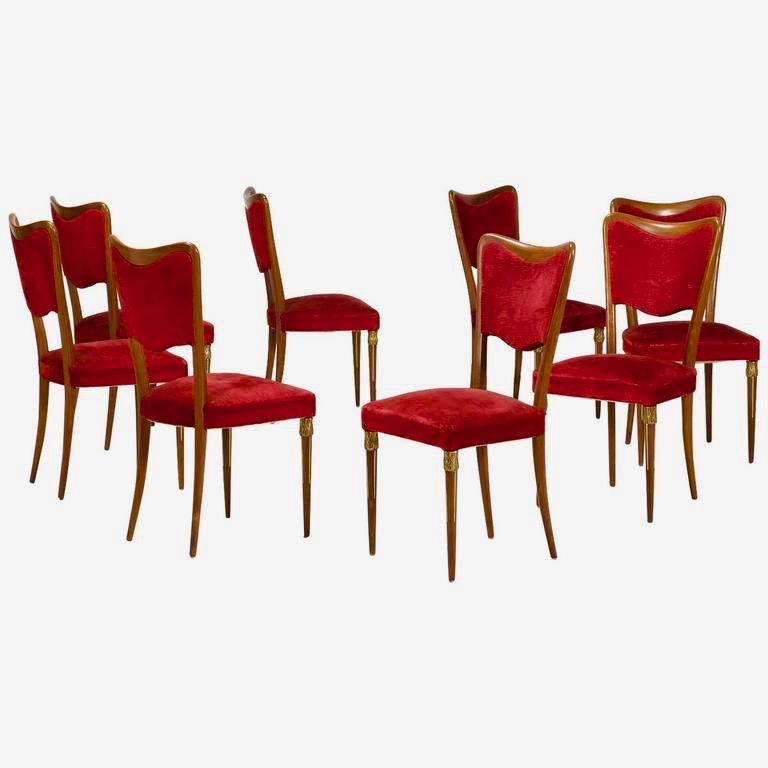 From Our Italian Mid Century Furniture Collection Department A New Set Of Fantastic Chairs Are Ready To Be Shipped And Fulfill The Home One Pionate