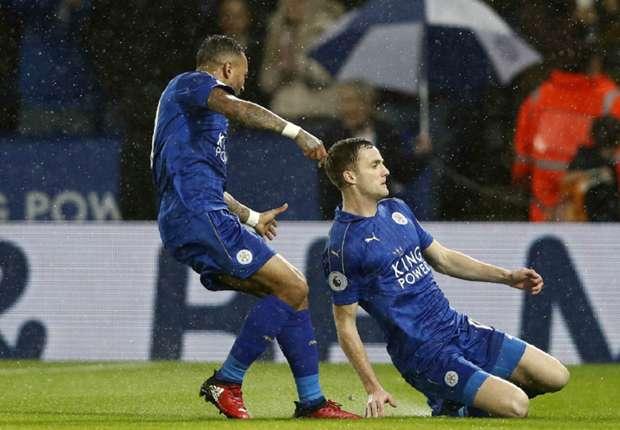 Liga Inggris : Leicester City tundukan Manchester City 4-2