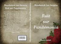"""Couverture de """"Nuit sur Pandémonia"""", de Bloodwitch Luz Oscuria"""
