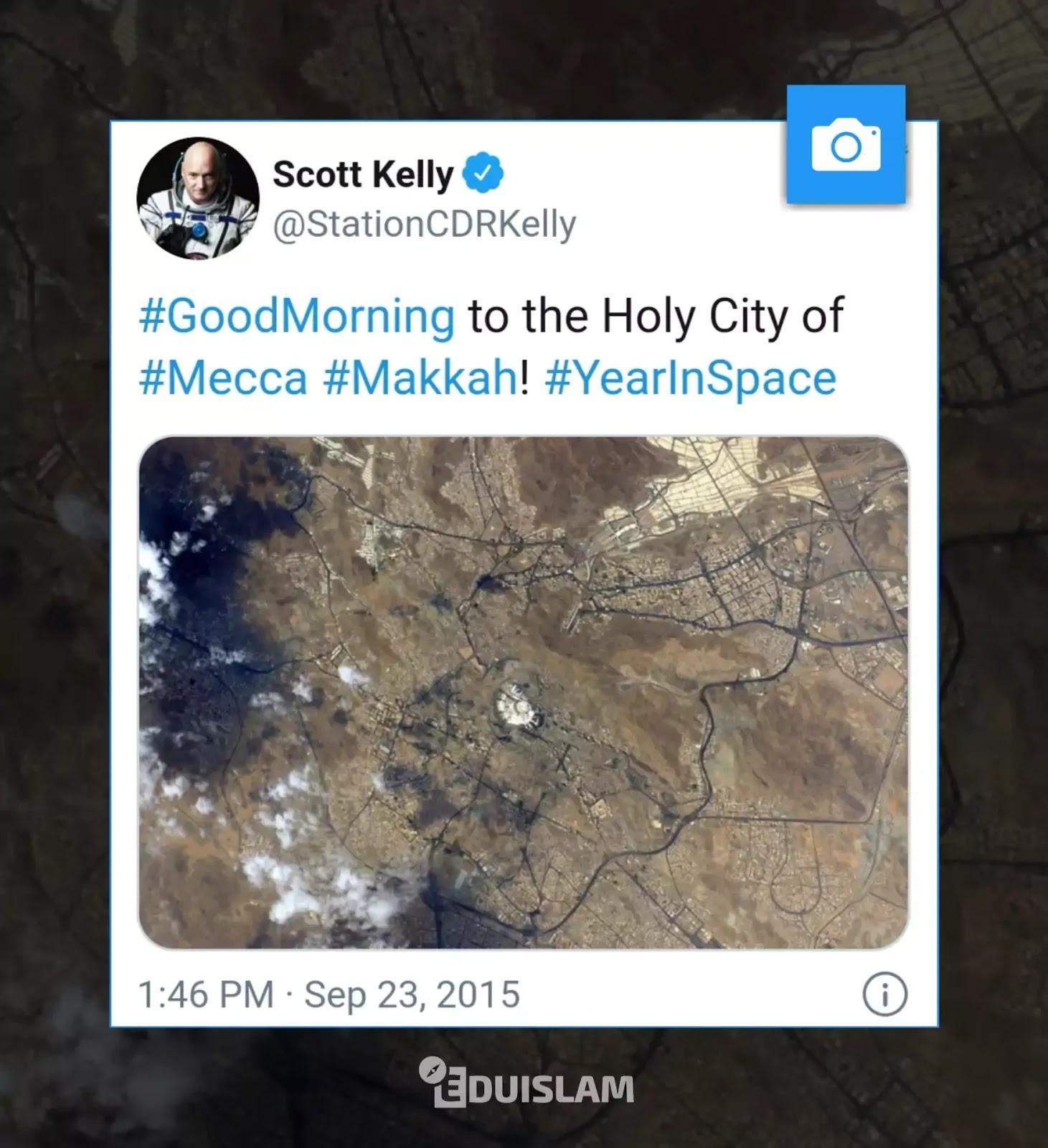 Makkah from space