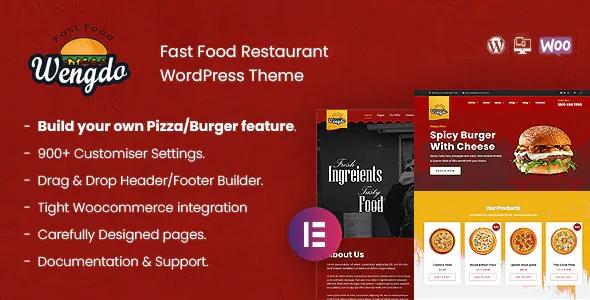 Best Fastfood WordPress Theme