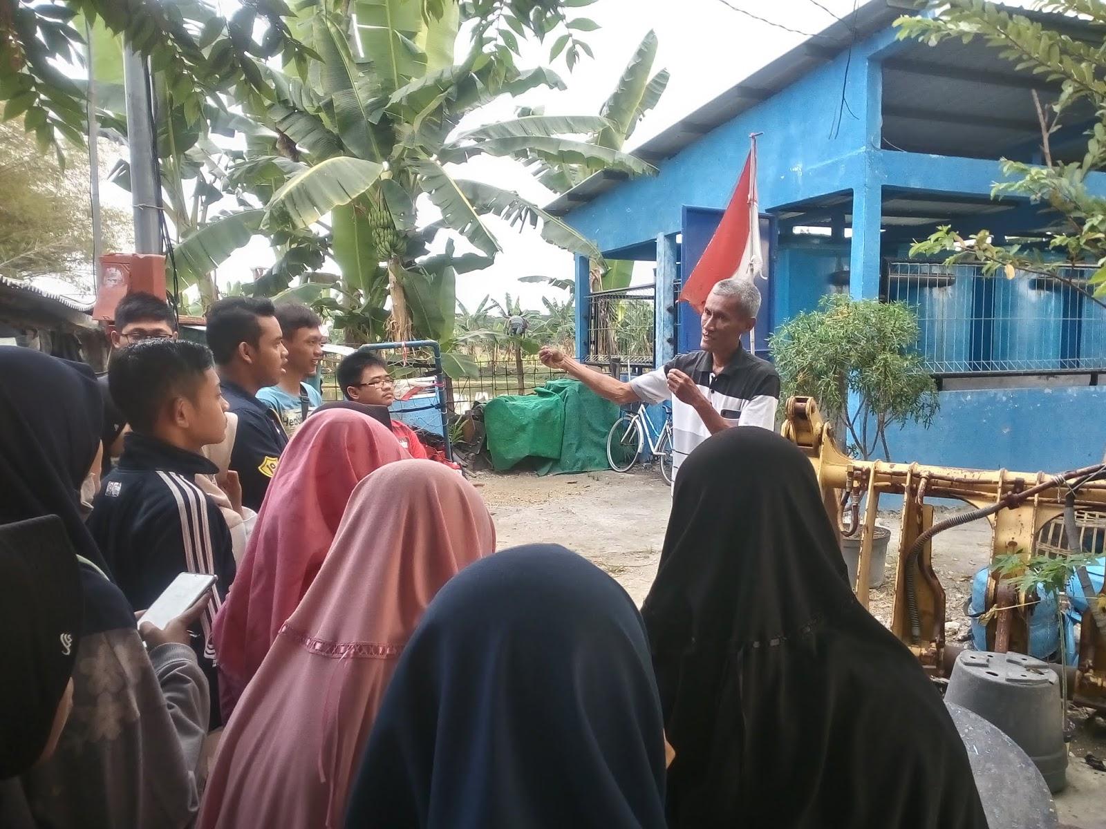 Kegiatan Observasi Instalasi Pengolahan Air Limbah di Desa ...