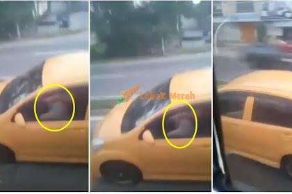 """""""Kalau ya pun tinted la"""" - Netizen cuba Husnu-dzon Tengok Pasangan """"Buat Projek""""  Dalam Kereta Masa Atas Jalan"""