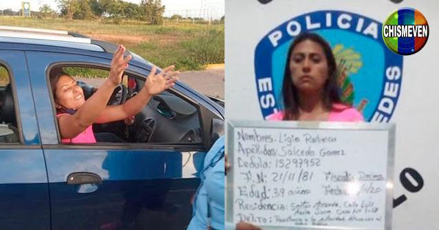 Liberan a la doctora que fue golpeada por la policía por quejarse sobre la gasolina