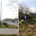 Ιωάννινα:Εθελοντές του Ερυθρού Σταυρού  έκαναν   τον ποδηλατόδρομο της Λεωφόρου Γεννηματά....να λάμπει !