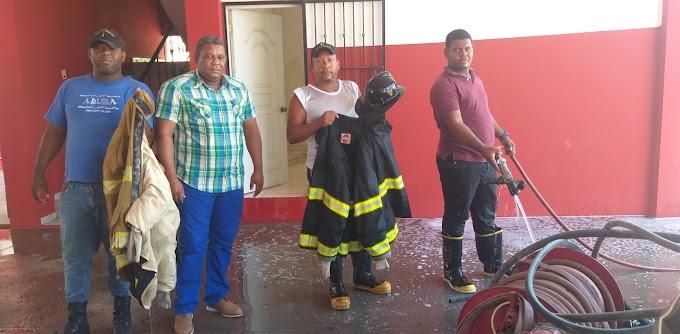 Designan a Nelson Feliz como Nuevo Jefe del Cuerpo de Bomberos de Cabral