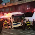 A bus collision accident in New York leaves 3 dead, 16 injured
