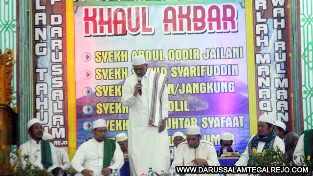Pengijazahan Kitab-Kitab Jawahirul Oleh KH  Sulthon Al-Fatih
