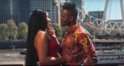 Video Diamond Platnumz ft Miri Ben-Ari - Baila