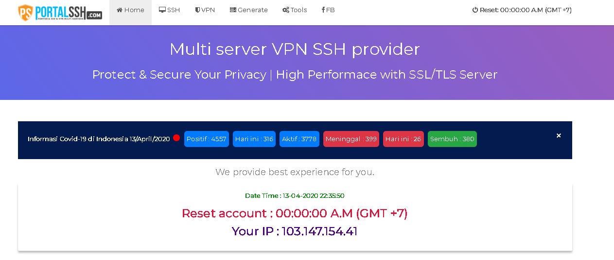 Kumpulan Web Akun Ssh Premium Gratis Buatan Orang Indonesia Kumpulan Remaja
