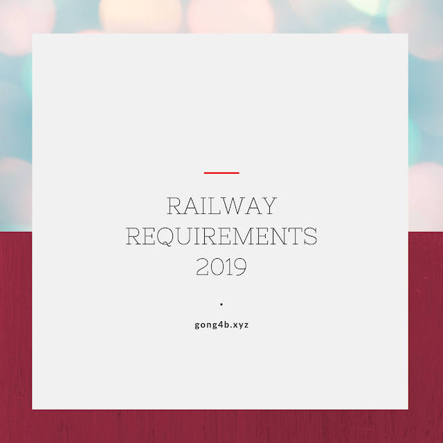 RRC RAILWAY MTS REQUIREMENTS 2019 online apply @  rrcnr.org by competitive exams
