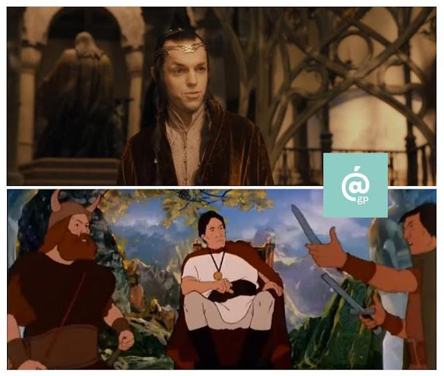 Elrond - El Señor de los Anillos: Peter Jackson Vs Ralph Bakshi - JRRTolkien - ÁlvaroGP - el fancine - el troblogdita
