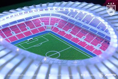 JDT Bakal Memiliki Stadium Bertaraf Dunia Pada Tahun 2019