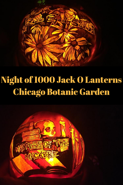 Night of 1000 Jack O Lanterns at Chicago Botanic Garden Amazes