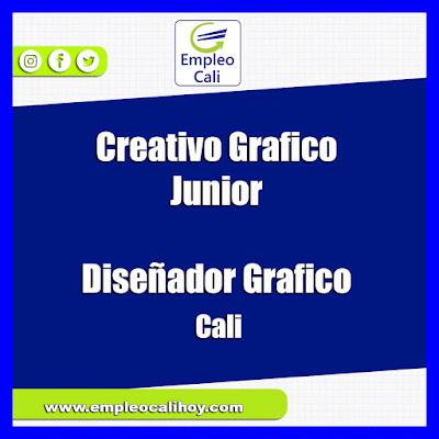 Empleo en Cali hoy Creativo Grafico Junior