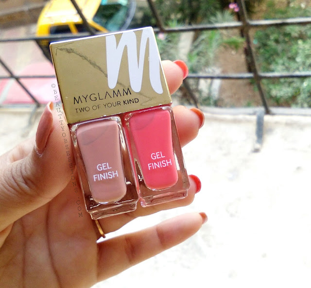 MyGlamm Long Lasting Nail Enamel Duo - Review