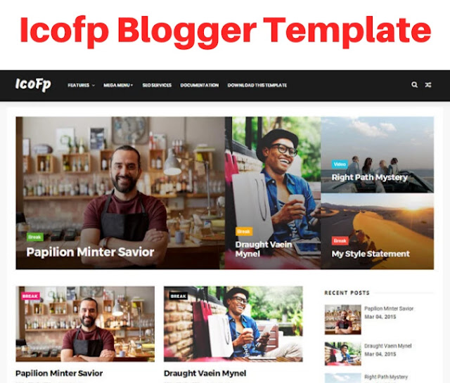 icofp blogger template, bootstrap blogger templates free download, bootstrap