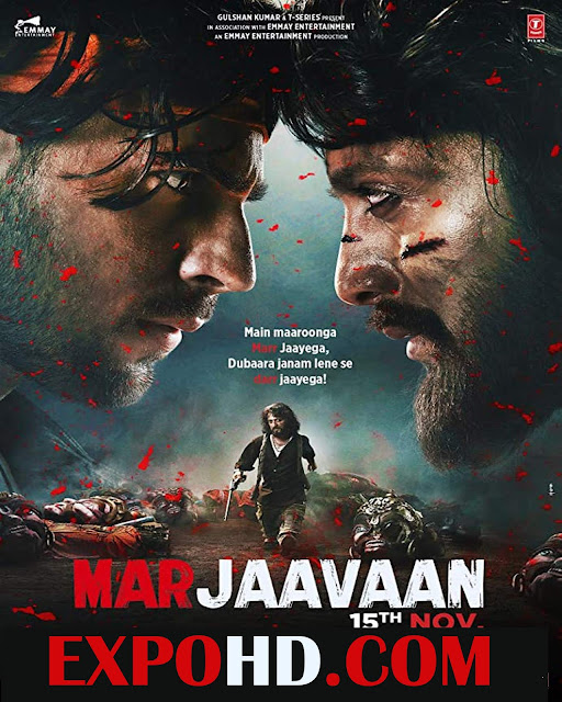 Marjaavaan 2019 Full Movie Download 720p | HDRip x265
