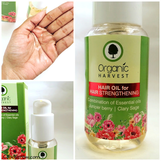Organic-harvest-hair-oil-review