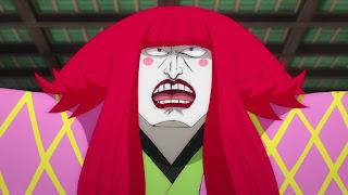 ワンピースアニメ 989話 ワノ国編 | ONE PIECE 黒炭カン十郎 Kurozumi Kanjuro