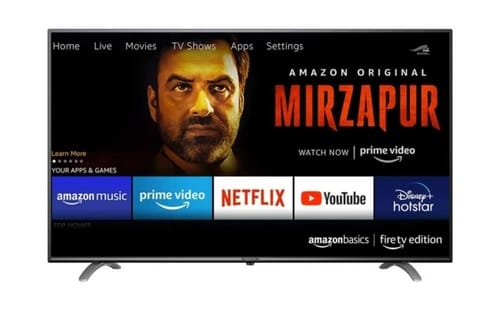 Amazon First TV is currently only available in India