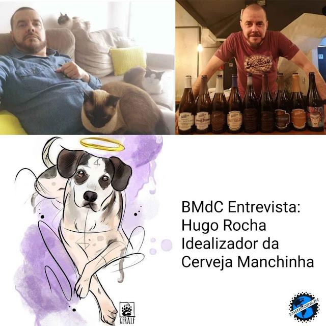 blog mundo da cerveja Entrevista com Hugo Rocha idealizador da cerveja Manchinha